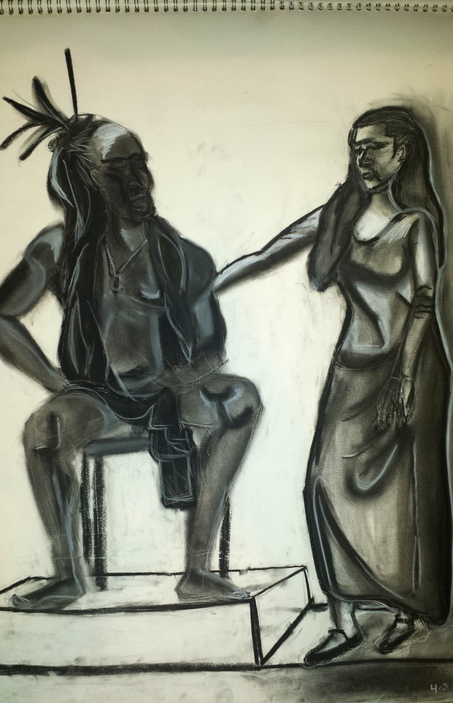 Figure Drawing Pair