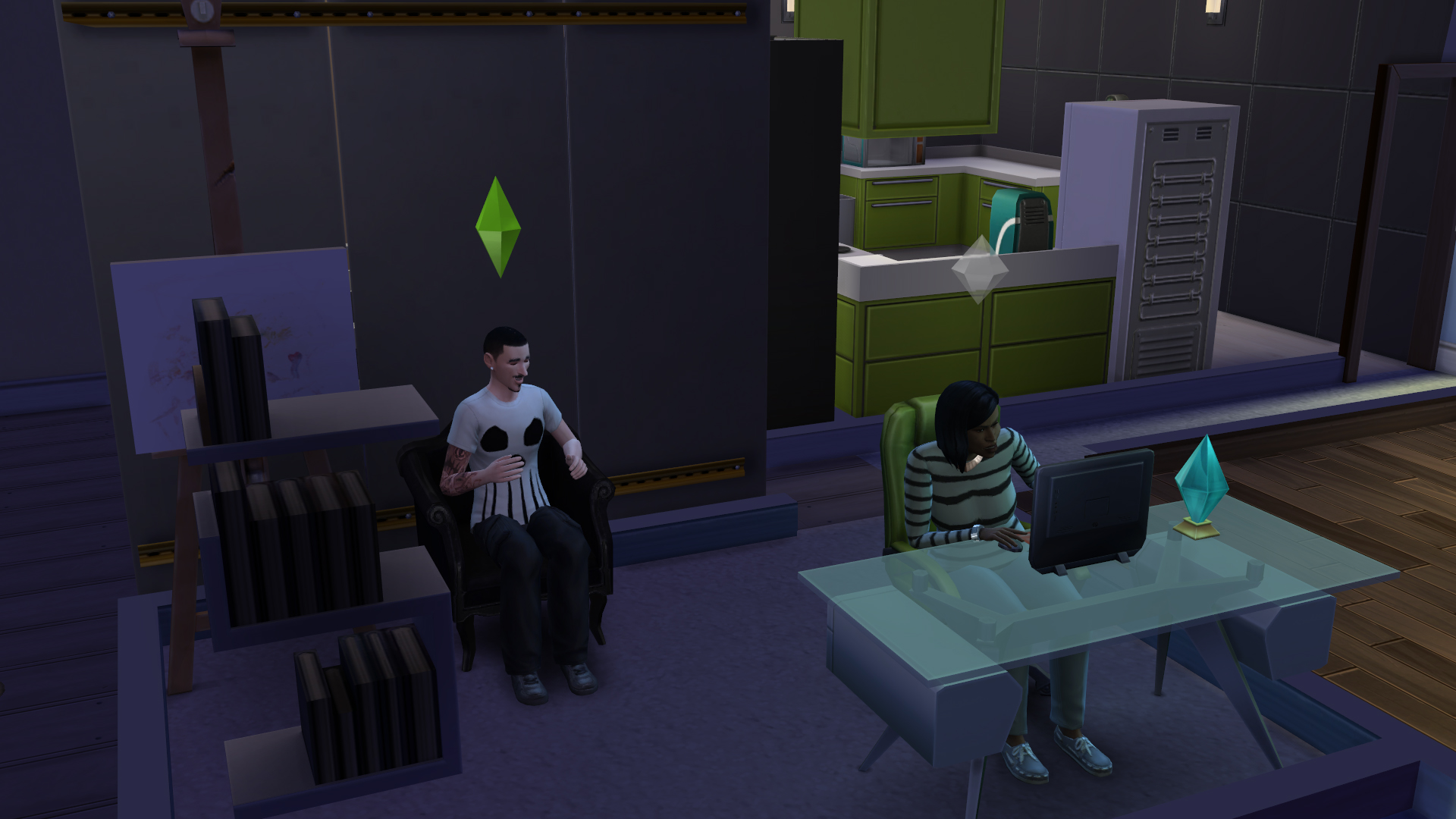 First Play The Sims 4 Review Ginnefine The Blog