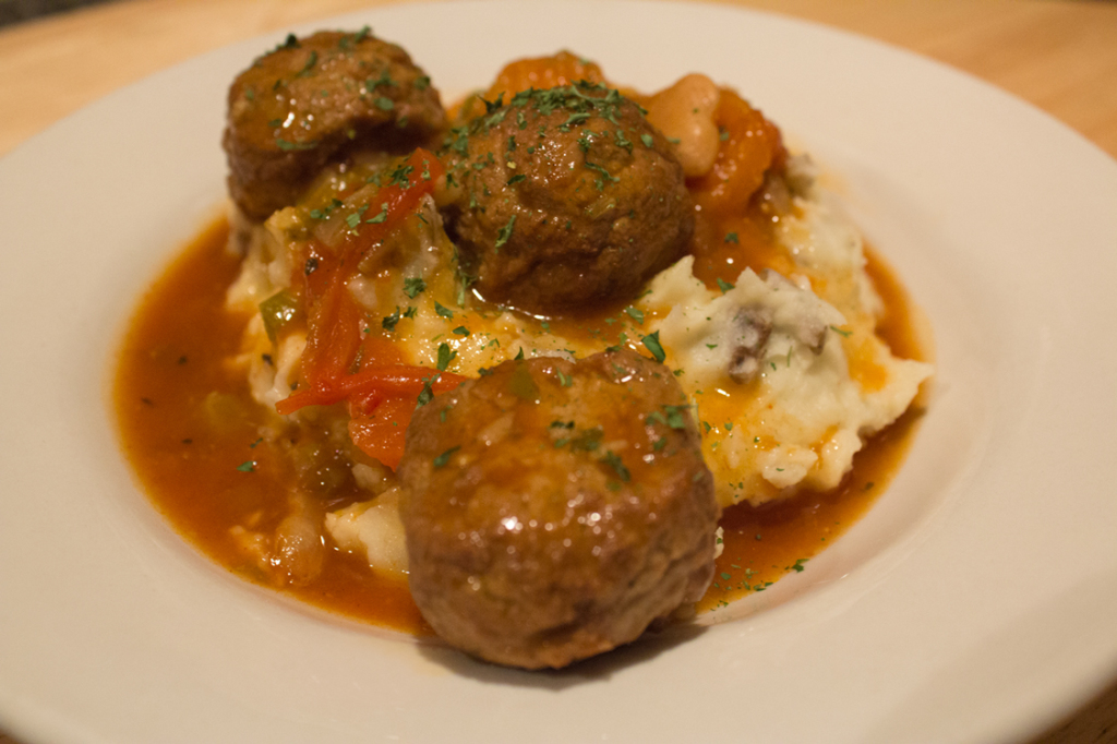Fragrant Meatball Stew - Plated