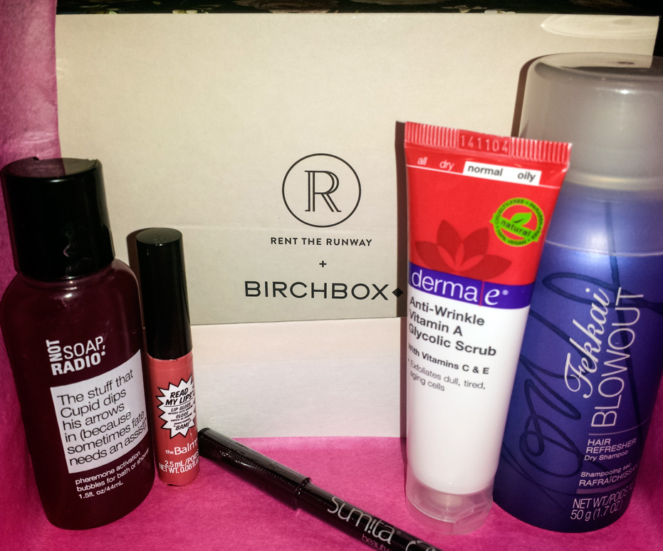 2015 February BIRCHBOX - Unboxing