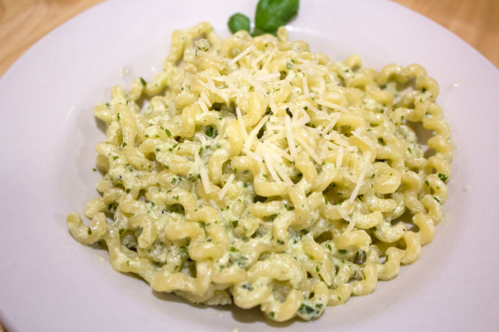 Creamy Pesto Pasta - Plated 2