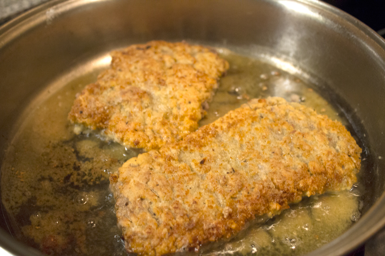 Country Fried Steak - Frying 2