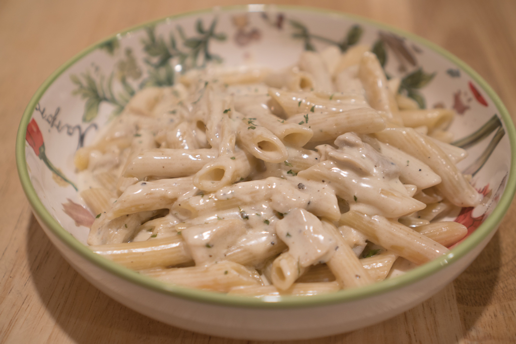how to cook alfredo sauce