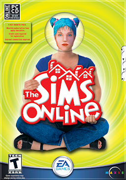 The Sims Online Cover