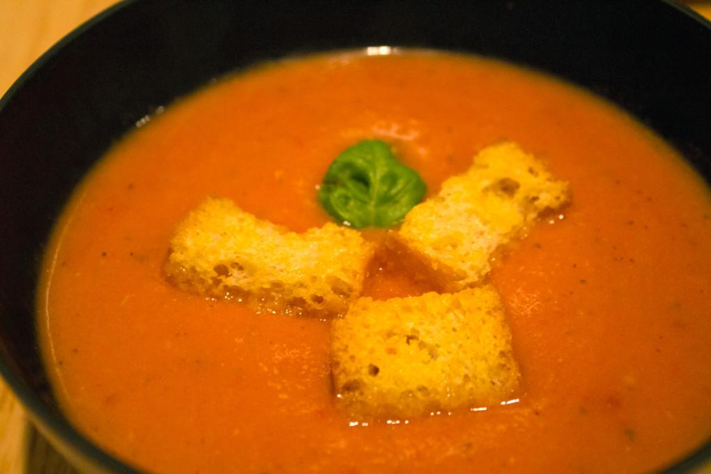 Creamy Tomato Soup - Close up