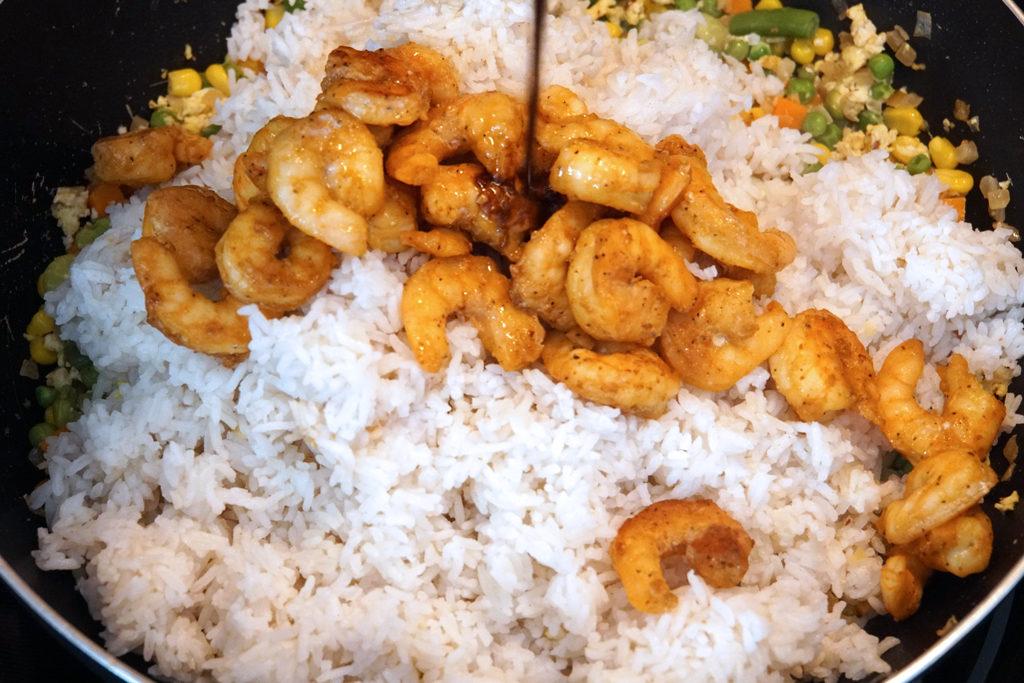 Shrimp Fried Rice-Wok